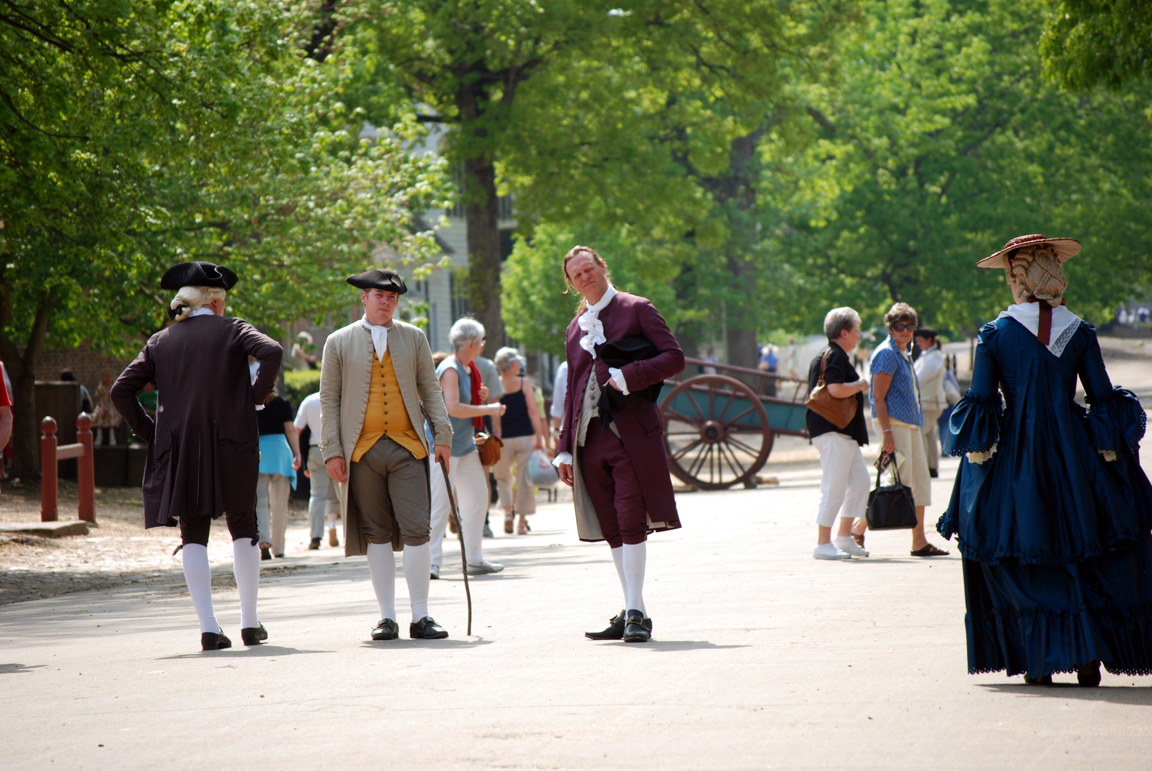 Colonial williamsburg history and unreality broad street for To do in williamsburg