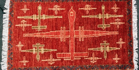 Art Imitating Life: Drones Appearing on Afghan Rugs