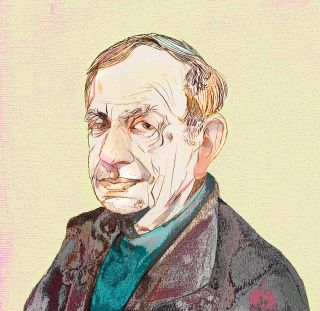 Yehuda Amichai Illustration