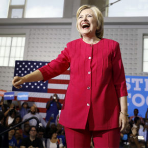 "Weekend Reading:  ""Our lady of the pantsuit: In praise — yes, praise! — of Hillary Clinton's style,"" by Sonja Livingston on Salon.com"