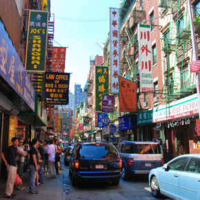 "Online Exclusive: ""Hands Chopping Air"": on teaching ESL in Manhattan's Chinatown.  An essay by Rachel Aydt."