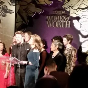 "Breaking News: Deborah Jiang-Stein honored at L'Oréal's ""Women of Worth"" event."