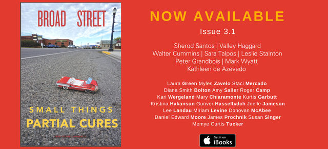 "It's here!! Our new issue, ""Small Things, Partial Cures,"" hit the street and the web June 13. Sample some of the contents here now."