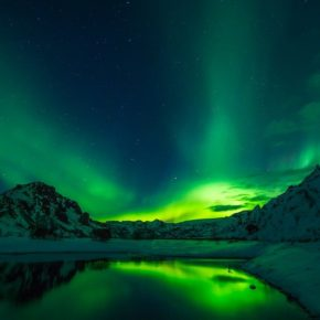 """Aurora Borealis,"" a stroll with Harry Kollatz, Jr., through Nature, Disaster, Memory."